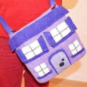 Filz-Tasche Haus für Kinder