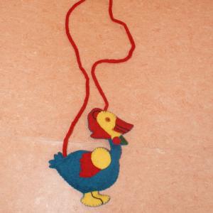 Filz-Tragetasche Ente
