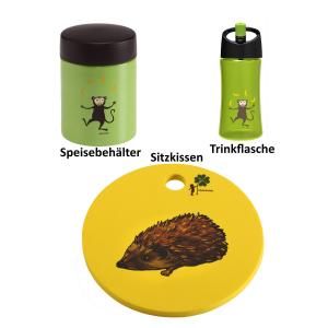 Waldwichtel Paket in gelb/grün