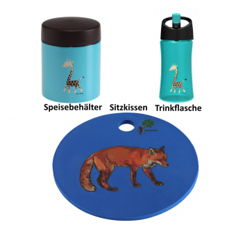 Waldwichtel Paket in blau/türkis