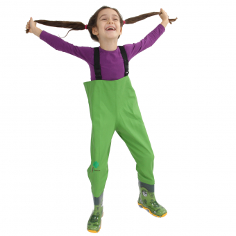 Kinder-Wathose, grün