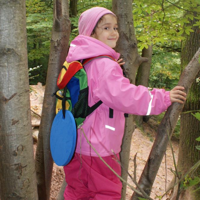 B-WARE Waldkindergarten-Sitzkissen, blau